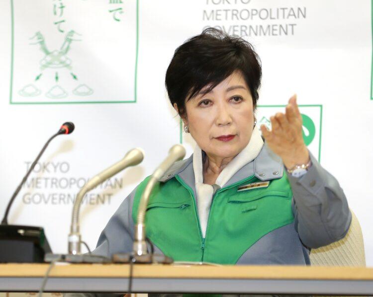 小池百合子氏に総理大臣の資質はあるのか(時事通信フォト)