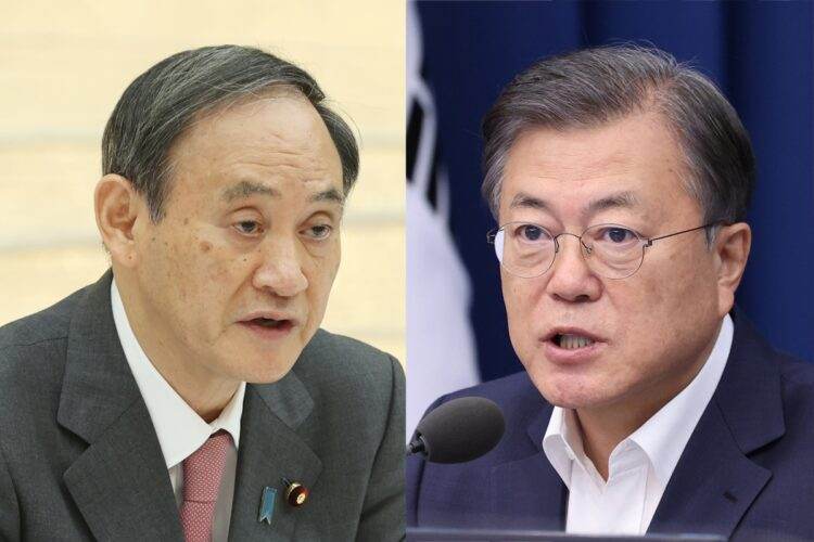 日韓の政治はどう違うか(時事通信フォト)