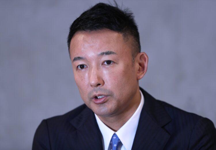 れいわ新選組代表の山本太郎氏(時事通信フォト)