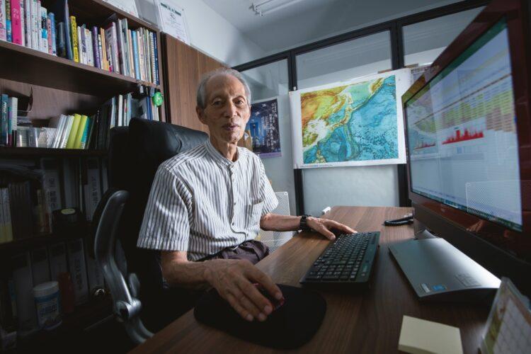 「MEGA地震予測」主宰の村井俊治・東大名誉教授が地震警戒地域を提言(撮影/藤岡雅樹)
