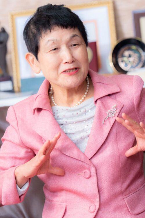 坂東眞理子さん