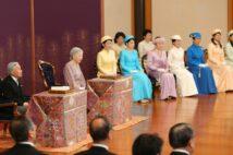 例年、歌会始は1月中旬に催されていた(写真は2018年の歌会始、時事通信フォト)