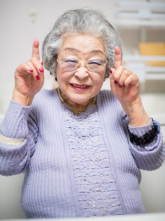 ばぁばこと、鈴木登紀子さん