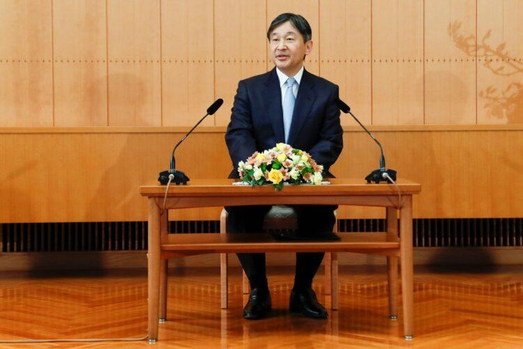 2月23日には天皇誕生日が控えているが、はたして…(写真/AFP=時事)