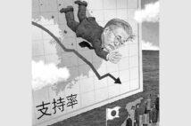 日韓関係、今後はどう対応する?(イラスト/井川泰年)