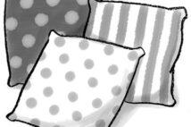 【直居由美里の「風水と晩成運」】今年の幸運のカギは部屋の整理。クッションカバーはストライプ柄や水玉模様を