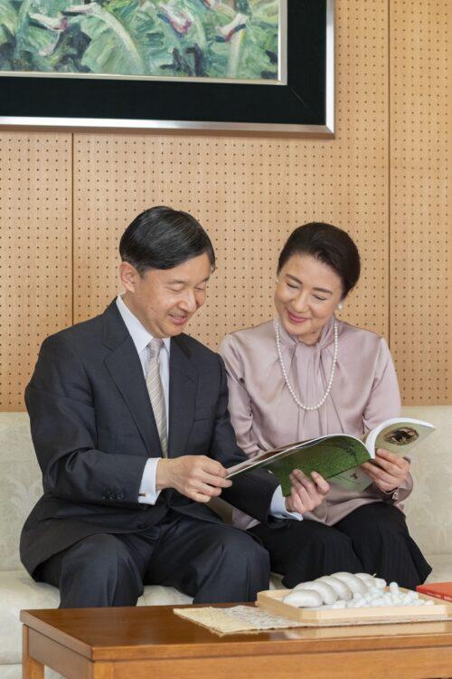 雅子さまのお誕生日には両陛下で談笑される姿が公開された(2020年12月、東京・港区)