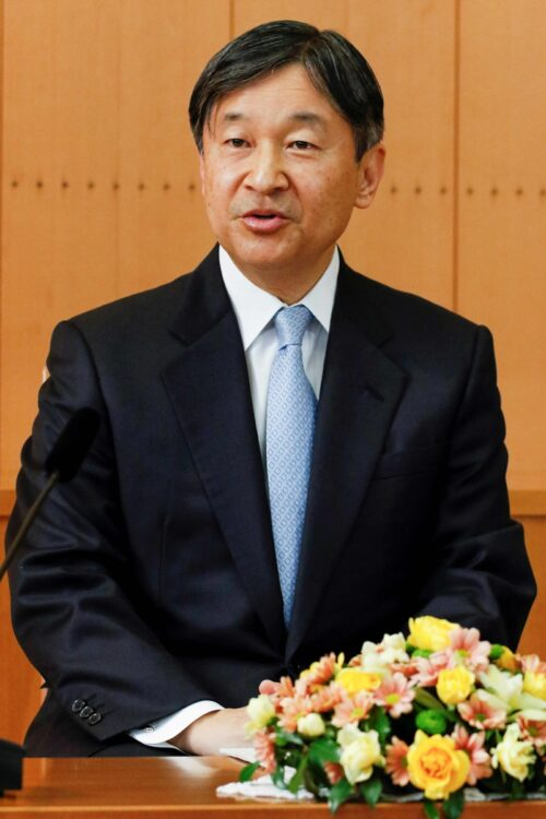 陛下は東京五輪・パラリンピック両大会の名誉総裁(AFP=時事)