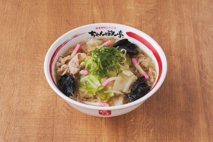 『おうちで近江ちゃんぽん 4食入り(細麺)』(ドリームフーズ 2592円)