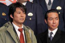 青島・室井も名コンビだった(左が織田裕二、右が柳葉敏郎。時事通信フォト)