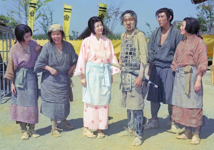『秀吉』(1996年)で豊臣秀吉を演じた竹中直人(写真/共同通信社)