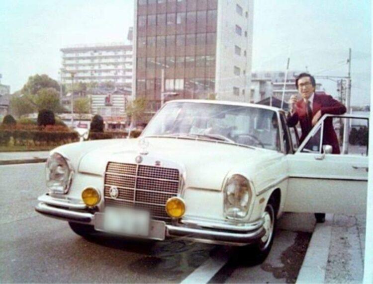 日本ではベンツがほとんど走っていない時代から乗っていたという
