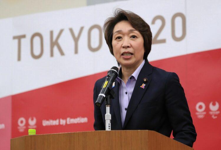東京五輪組織委員会、森喜朗氏の後任は女性の橋本聖子氏(時事通信フォト)