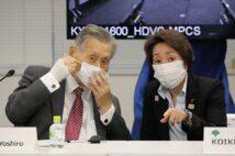 森喜朗氏と橋本聖子氏はもともと師弟関係。これで「女性の声」が五輪に届くのか(AFP=時事)