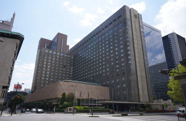 帝国ホテルは渋沢が作った迎賓館だった(時事)