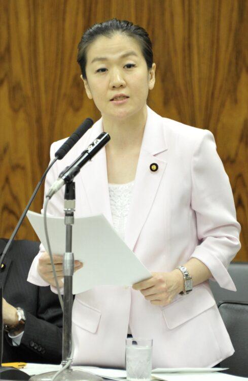 2010~2016年に参議院議員を務めた谷亮子氏(時事通信フォト)