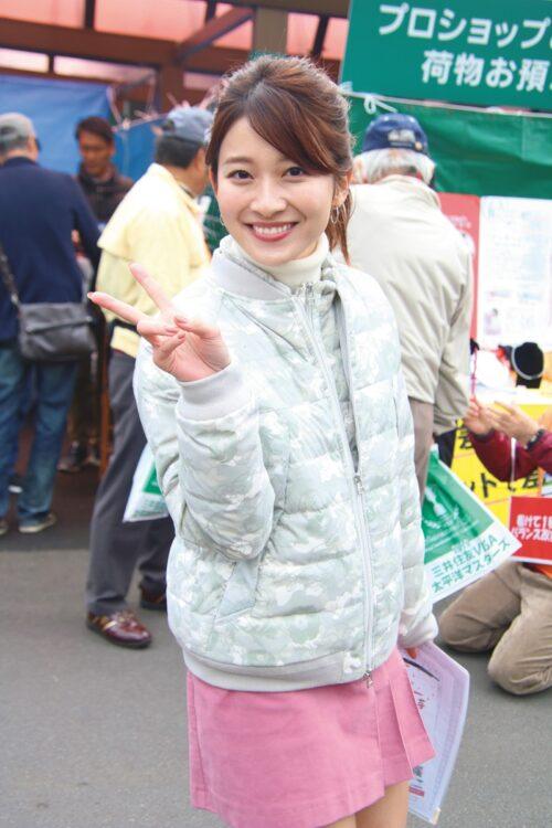 山本里菜アナ(写真/ロケットパンチ)