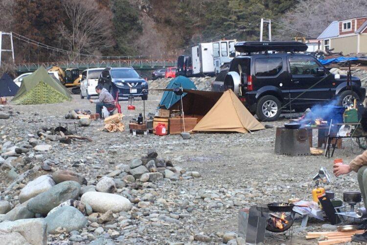 筆者が訪れた「青野原野呂ロッジキャンプ場」