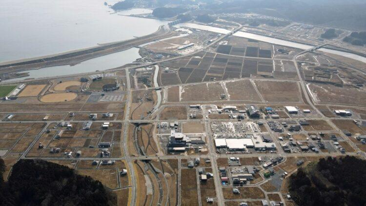 岩手県陸前高田市では、新しい道路も整備された。