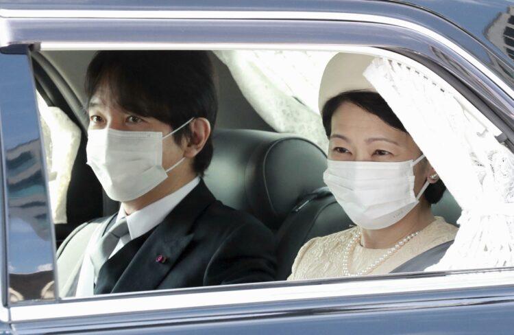 天皇誕生日に秋篠宮皇嗣夫妻を乗せた公用車で起こった(時事通信フォト)