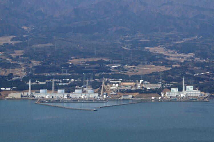 2011年3月12日の福島第一原発。まだ水素爆発が起こる前