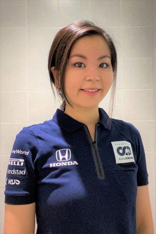 本村由希さん。ロンドン留学、プレミアリーグのサッカークラブ勤務、MBAなどをへて、F1へ