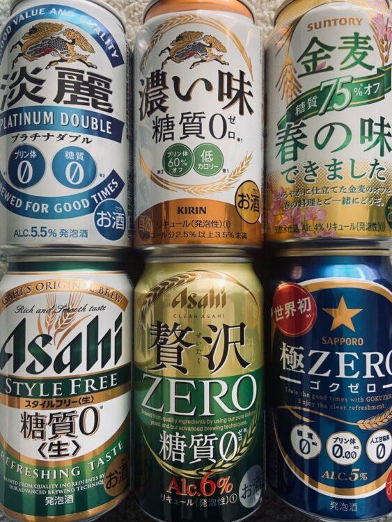 発泡酒や第三のビールでは既に激しい市場争いとなっている糖質オフ商品