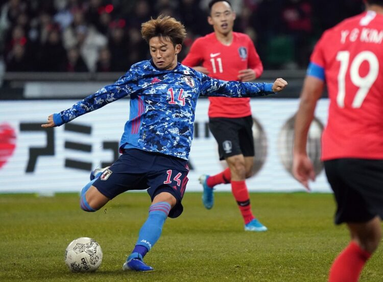 サッカーで最後の日韓戦は2019年12月のEAFF E-1サッカー選手権だった(Penta Press/時事通信フォト)
