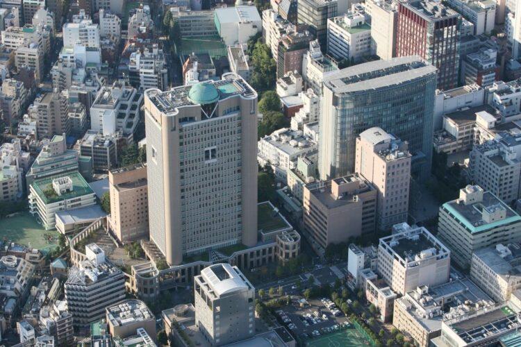 明治大学・駿河台キャンパス(時事通信フォト)