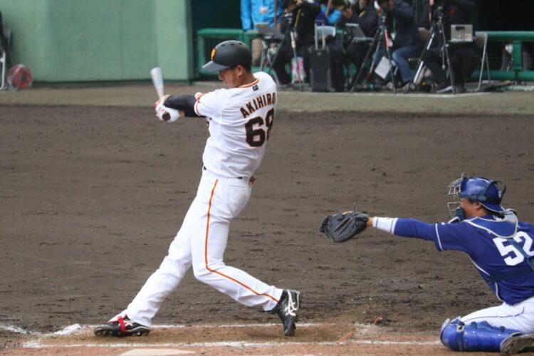高卒野手ルーキー・秋広優人(時事通信フォト)