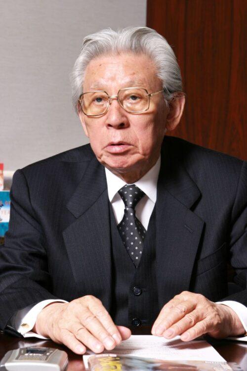 東北新社の創業者、植村伴次郎氏(故人)