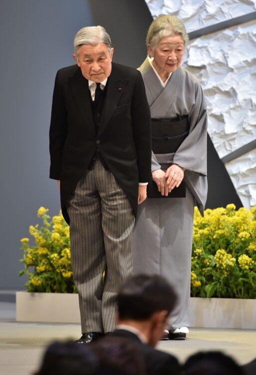 2016年3月 東日本大震災五周年追悼式(撮影/JMPA)