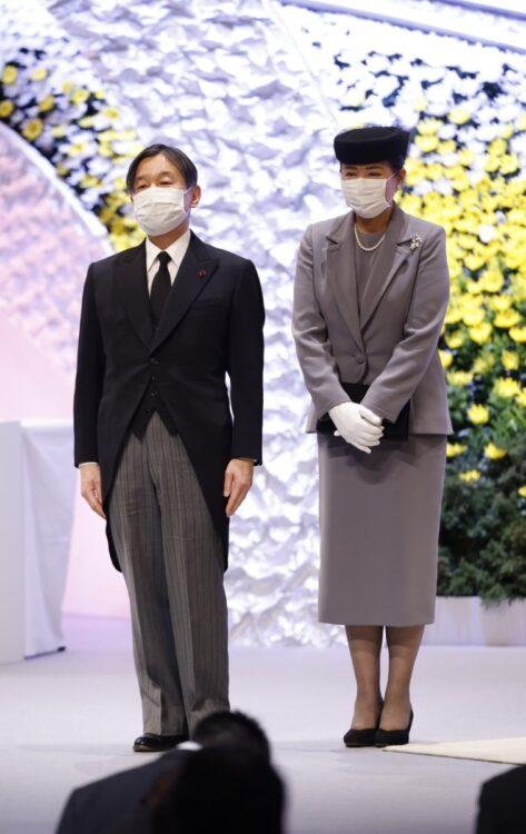 2021年3月 東日本大震災十周年追悼式(撮影/JMPA)