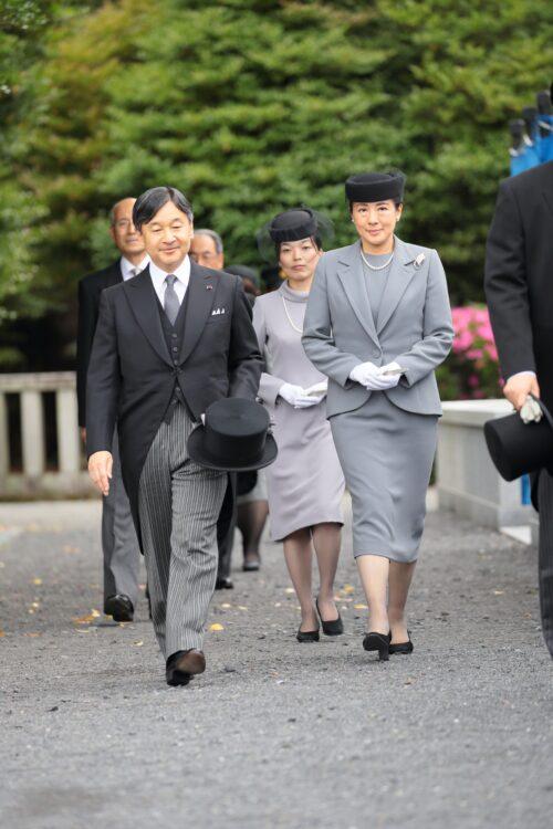 2019年6月 宜仁親王五年式年祭墓所祭(撮影/小倉雄一郎)