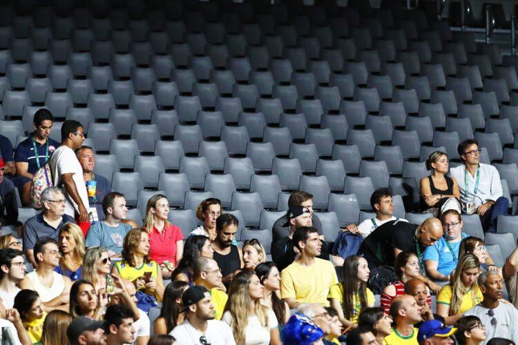 リオ五輪でも空席が目立つ競技はあったが…(写真/EPA=時事)