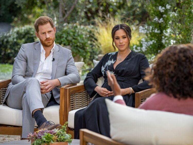 過去、ロイヤルファミリーの結婚相手選びにはどんな「掟」が?(ヘンリー王子と妻・メーガン妃、写真/ロイター=共同)