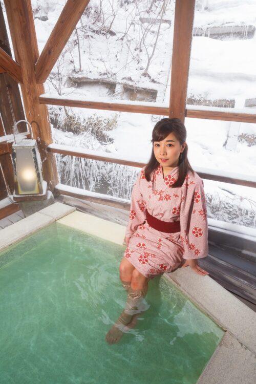 吉田愛梨アナが、名湯・蔵王温泉の魅力を語る