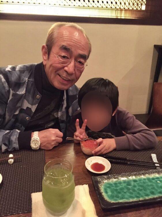 星野さんの息子を孫のようにかわいがる志村さん