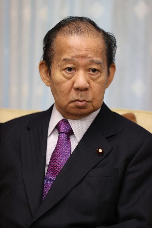 二階俊博幹事長が意外な発言(時事通信フォト)