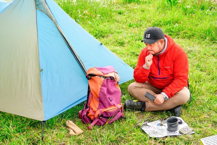 ブームになっているソロキャンプ