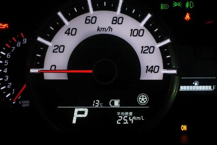 パラレルハイブリッドの特性を生かして走れば燃費はかなり稼げる印象