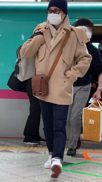 バッグは10年以上愛用しているもの