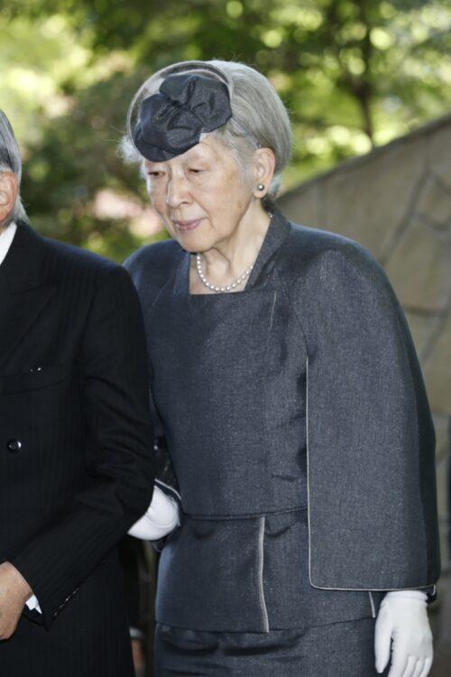 遠山さんは気の置けない友人だったという(2019年4月、東京・八王子市=撮影/JMPA)