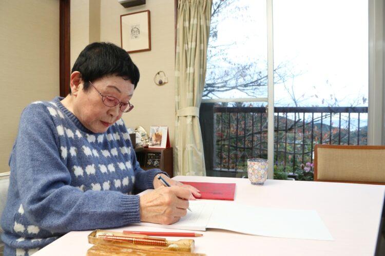 終活ノートに葬式や偲ぶ会もしないと望みを記していた橋田さん