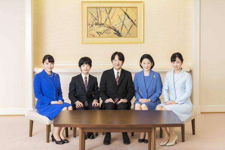 小室さんは何度も秋篠宮邸に足を運んでいた(写真は1月、東京・港区。宮内庁提供)