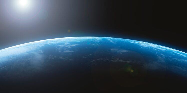 地球は青かった(写真/AFLO)