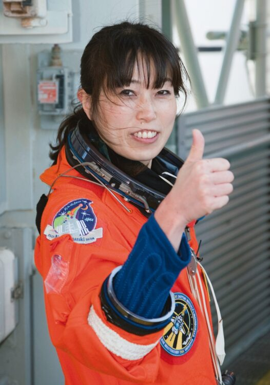 山崎直子氏が見据える今後の宇宙開発の展望とは?(時事通信フォト)