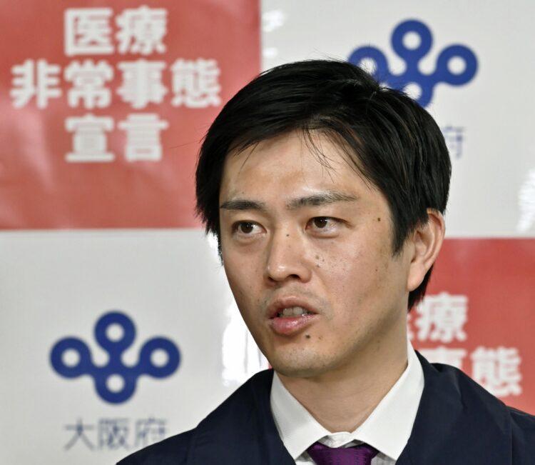 吉村洋文・大阪府知事の手腕は高く評価されていたが…(写真/共同通信社)