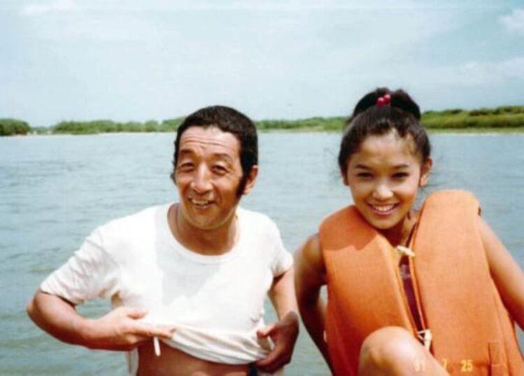 児島さん提供の貴重な「五郎とこごみ」の恋人ショット