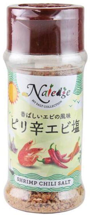 えびの香りがふわっと香る合わせ塩『ナレッジ ピリ辛エビ塩』